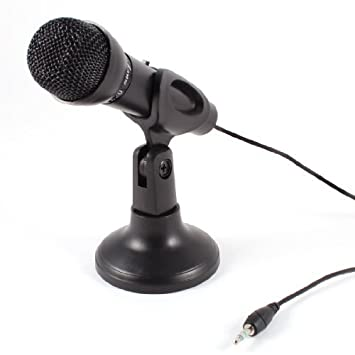 4c38c0e396e2e Amazon.in  Buy Banggood 3.5mm Omnidirectional Mini Microphone (Black)  Online at Low Prices in India