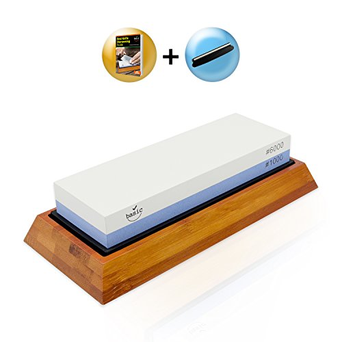 Knife Sharpening Stone Kit - Japanese Whetstone Set 2 Sided