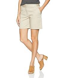 IZOD Bar Harbor Bermuda - Pantalones Cortos para Mujer