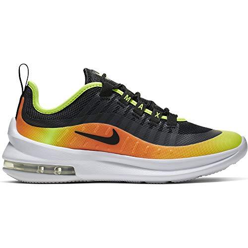 Nike Kids Air Max Axis RF Shoe Black/Volt/Total Orange Size 4 M US (Orange Nike Kids For Shoes)
