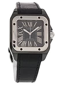 Cartier Santos 100 automatic-self-wind mens Watch 2878 (Certified Pre-owned)