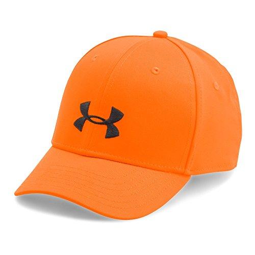 Camo Cap, Blaze Orange/Metallic Beige, One Size (Orange Camouflage Cap)