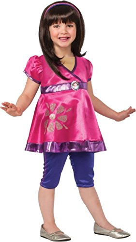 Dora The Explorer Costume Rental (Rubies Dora and Friends Deluxe Dora The Explorer Costume, Child Small)