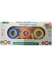 Stress Relief Magnetic Ring  3 Pcs