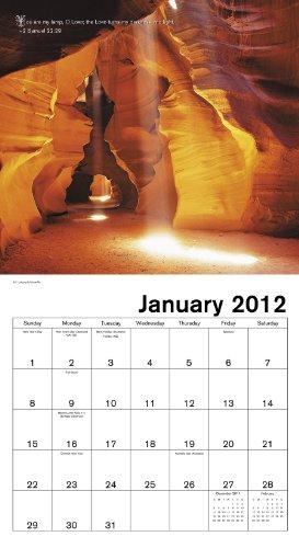 2012 Bible Verses Wall Calendar