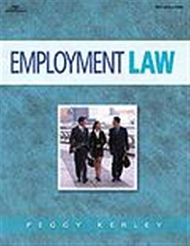 Employment Law for the Paralegal