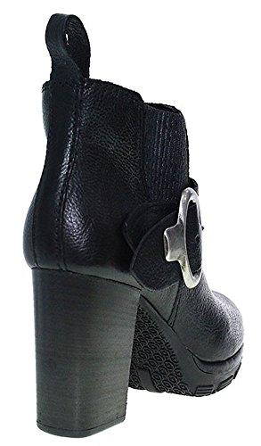 Mjus Stiefelette Ankle Boot Blockabsatz | schwarz Schwarz