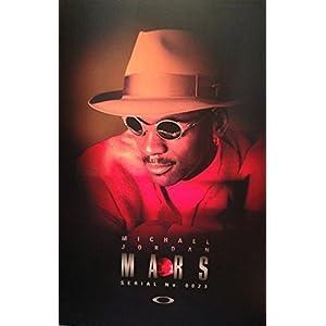 **PRINT AD** With Michael Jordan For 1998 Oakley Mars Sunglasses **PRINT AD**
