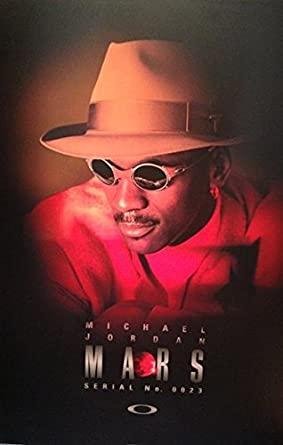 8926d18e4a Amazon.com    PRINT AD   With Michael Jordan For 1998 Oakley Mars Sunglasses    PRINT AD    Entertainment Collectibles