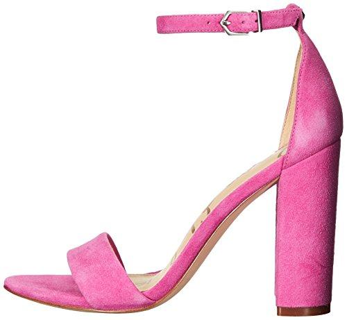 Edelman Pink Suede Sandal Hot Heeled Yaro Women's Sam R6qH4