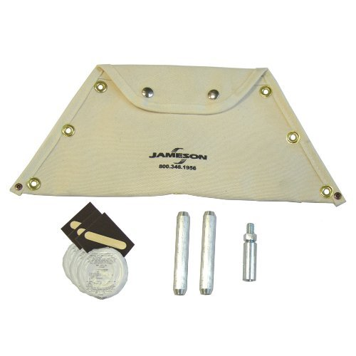 Jameson 11-38-RK Accessory and Repair Kit for Big Buddy Electrical Fish Tape Duct Rodder for 1/2-inch Fiberglass Rod