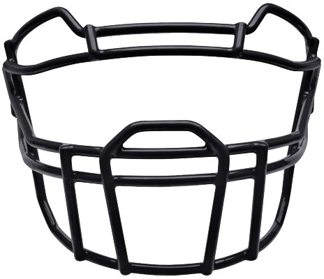 Football Face Mask (Schutt Sports Youth VROPO DW YF Carbon Steel Vengeance Football Faceguard, Black)