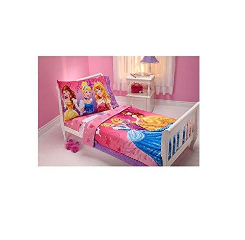 Disney Princess Fairy Tale Moment 4-Piece Toddler Bedding Set