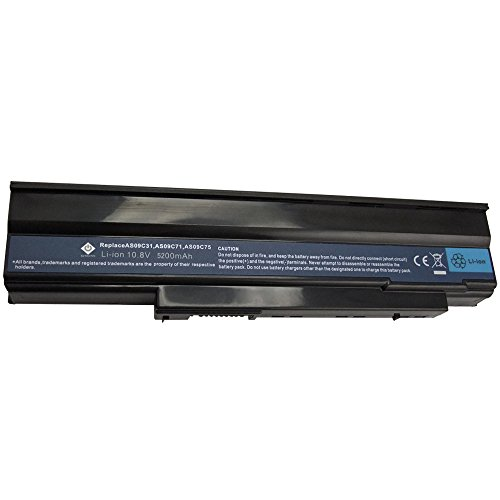Packard Bell Laptop Notebooks - Bay Valley Parts 6-Cell 10.8V 5200mAh New Replacement Laptop Battery for emachines E528 Packard Bell:EasyNote NJ31,EasyNote NJ32,EasyNote NJ65,EasyNote NJ66