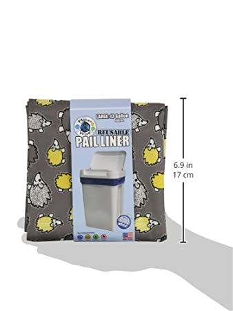 Dark Chocolate Planet Wise Reusable Diaper Pail Liner