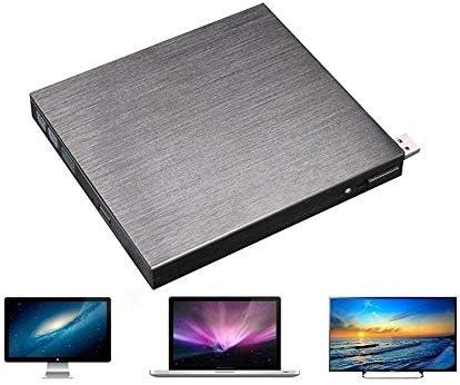 DVDドライブ 外付けブルーレイドライブのUSB 3.0光学ドライブBD-REのCD/DVD Rwをバーナーライター外部ブルーレイプレーヤー JPLJJ