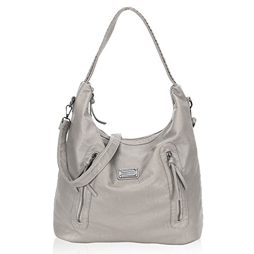Washed Leather Hobo - 8