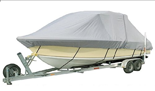 Vehicore Heavy Duty T-top Hard Top Boat Cover for Grady-White Freedom 275 Grey by Vehicore