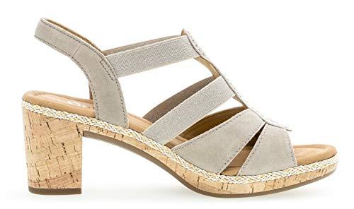 774 sandalias Alto kork sandalia Mujer Verano tacón Koala 22 De zapatos Tacón Gabor flecht 5fqXaw
