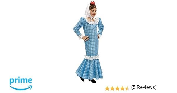 My Other Me Me - Disfraz de madrileña para niña, talla 10-12 años ...
