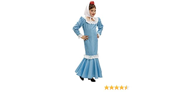 My Other Me - Disfraz de madrileña para niña, Talla 5-6 años ...