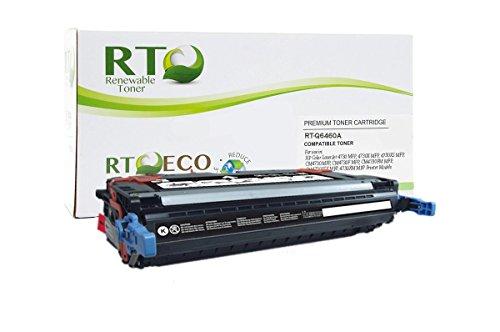 Q6460a Replacement - Renewable Toner Compatible Toner Cartridge Replacement for HP 644A Q6460A for Color Laserjet 4730 (Black)