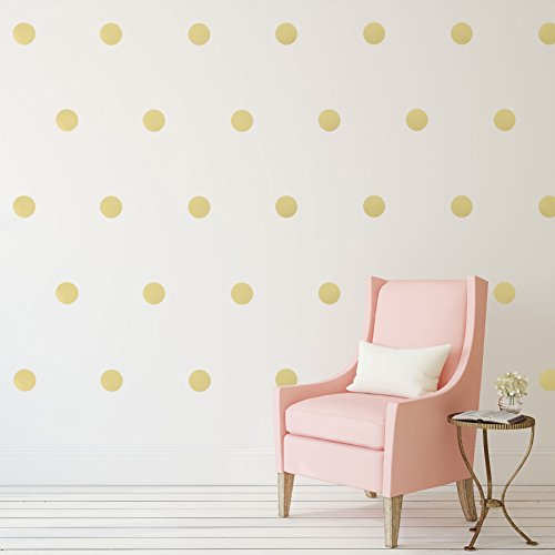 Polka dots wall decals 4 54 decals removable peel and for Polka dot wall decals for kids rooms