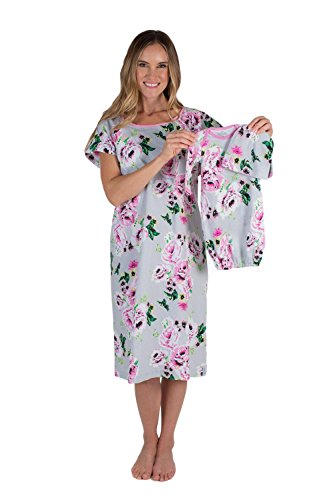 6e71abc9c819c Baby Be Mine Mommy and Baby Set and Matching Labor & Delivery Maternity  Hospital Gown Gownie