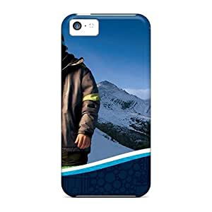 USMONON Phone cases New Sammy Kent Alpine Skier First Nations Skin Case Cover Shatterproof Case For Iphone Iphone 5c