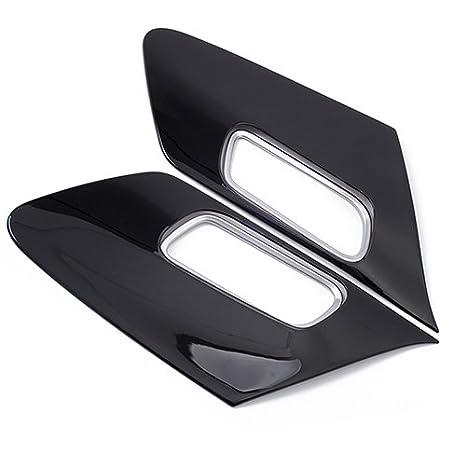 Negro Plástico Puerta Interior Mango cuenco Cover + ABS bisel embellecedor de mate para Sienta nhp170 2016 - 2017 coche estilo 4 piezas/set: Amazon.es: ...
