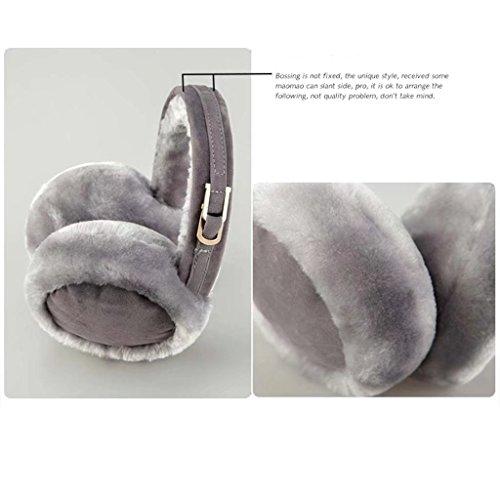 Ann unisex paraorecchie elegante morbida peluche inverno termica moda  paraorecchie scaldamani paraorecchie caldo paraorecchie cappello cappello  paraorecchie ... a439a0fc3b23