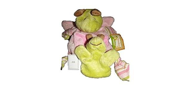 X- otros - Doudou EUREKAKIDS rana Bebe marioneta verde - 243 ...