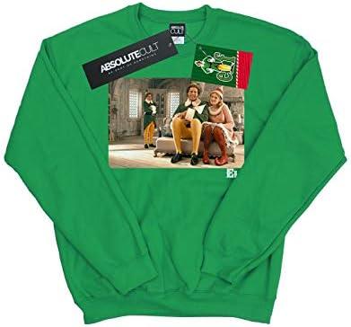 Elf Herren Family Shot Sweatshirt Irish Grün Large