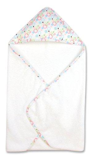 Trend Lab Hooded Towel, Cupcake (Bubbles Teal Hamper)