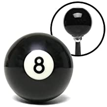 American Shifter ASCSN03008 8-Ball Billiard Pool Custom Shift Knob