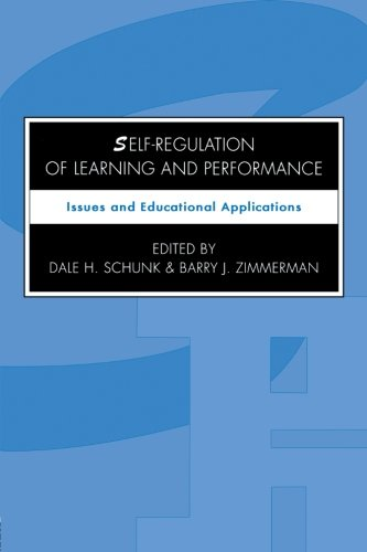 Self-regulation of Learning and Performance: Issues and Educational Applications