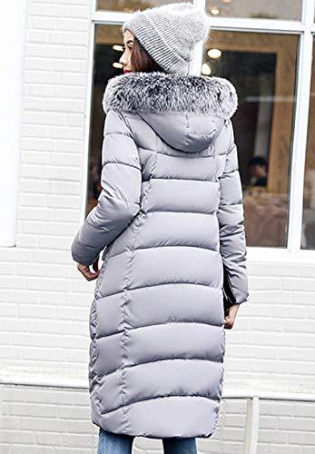 Capuchon Oversize Femme Fashion Hiver Fourrure Parka Doudoune avec 4UwzTqwE