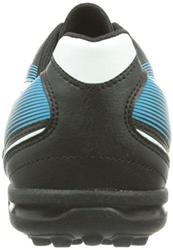Puma Esquadra TT - Botas de fútbol de material sintético para hombre negro - Schwarz (black-white-scuba blue 01)