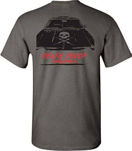Death Proof Industries Skull Hood Nova Speed Shop T-Shirt for sale  Delivered anywhere in USA