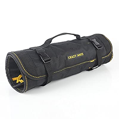 Crazy Ants Reel Rolling Tool Bag Pouch Professional Electricians Organizer from CRAZY ANTS