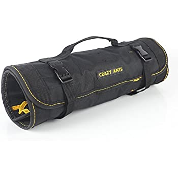 cbcc48ad14 Crazy Ants Reel Rolling Tool Bag Pouch Professional Electricians Organizer