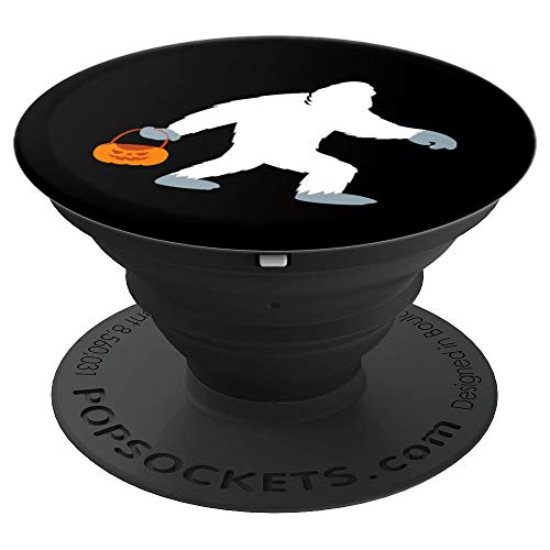 (Bigfoot Sasquatch Pumpkin Halloween Costume - PopSockets Grip and Stand for Phones and)