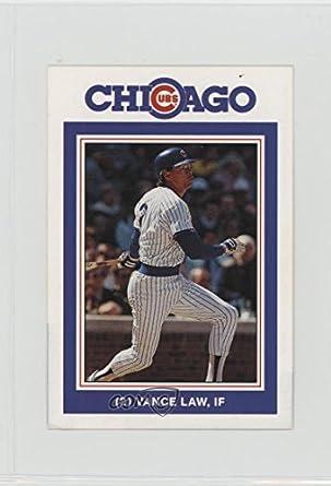 best website 3de10 5c652 Amazon.com: Vance Law (Baseball Card) 1988 David Berg ...