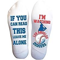 Los Angeles Socks Funny Men's Birthday Gifts Baseball Team