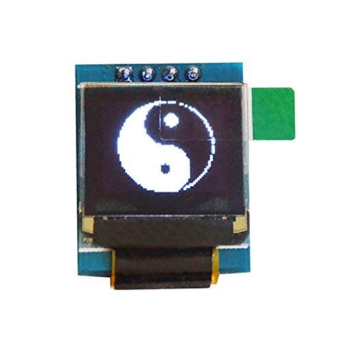 (SSD1306 White 0.66 inch OLED Display Module 64x48 0.66quot; LCD Screen IIC I2C for Arduino AVR STM32 LCD Module)