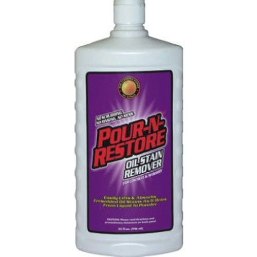 [Pour-N-Restore Oil stain Remover. 32 fl oz] (N/a Oil)