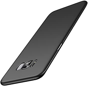 Anccer Galaxy S8 Case [Colorful Series] [Ultra-Thin] [Anti-Drop] Premium Material Slim Full Protection Cover For Samsung Galaxy S8 5.8 Inch (Smooth Black)