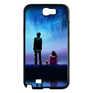SYYCH Phone case Of Meteor Shower Cover Case For Samsung Galaxy Note 2 N7100