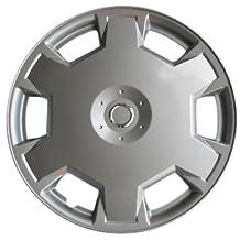 "Drive Accessories KT-1017-15S/L, Nissan Versa, 15"" Silver Replica Wheel Cover, (Set of 4)"