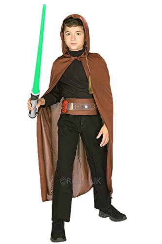 [Rubies 5209 Jedi Knight - Costume] (Childrens Dressing Up Knights Outfit)